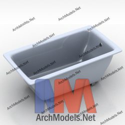 bathtub_00004-3d-max-model