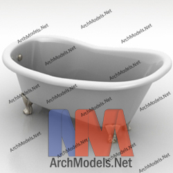 bathtub_00009-3d-max-model