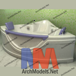 bathtub_00017-3d-max-model