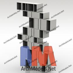 bookcase_00002-3d-max-model