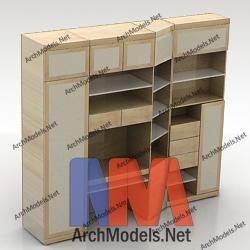 bookcase_00003-3d-max-model