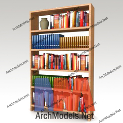 bookcase_00004-3d-max-model