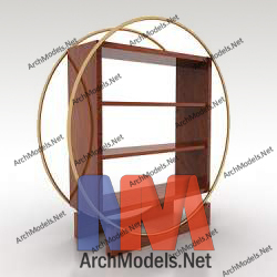 bookcase_00005-3d-max-model