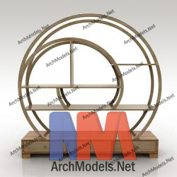 bookcase_00007-3d-max-model