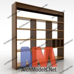 bookcase_00011-3d-max-model