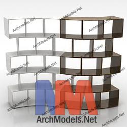 bookcase_00015-3d-max-model