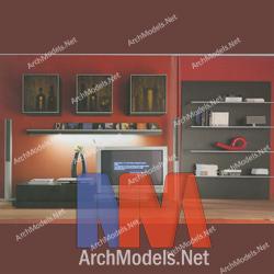 bookcase_00016-3d-max-model