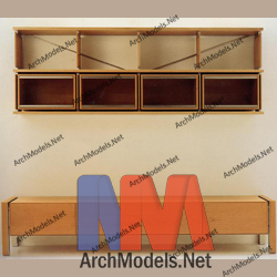 bookcase_00019-3d-max-model