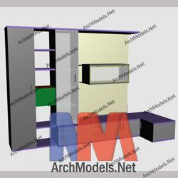 bookcase_00020-3d-max-model