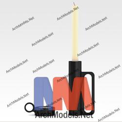 candlestick_00001-3d-max-model