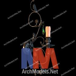 candlestick_00005-3d-max-model