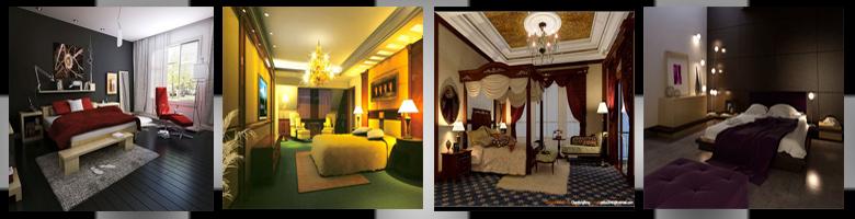 Bedrooms Scenes 3D Models