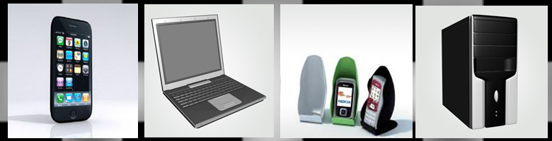 Computers & Phones 3D Models