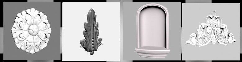Decorative Elements 3D Models