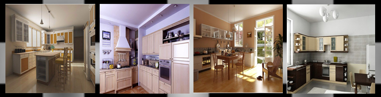 Kitchen Scenes 3D Models