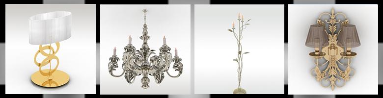 Lamps 3D Models
