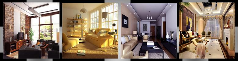 Living Rooms Scenes 3D Models