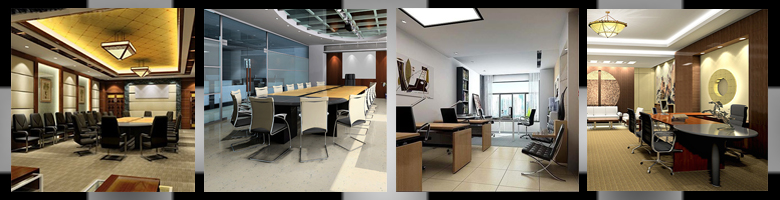 Office Scenes 3D Models