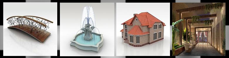 Outdoor 3D Models