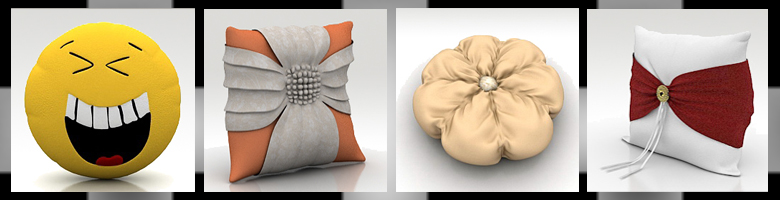 Pillows 3D Models