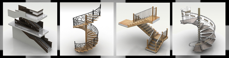 Stairs 3D Models