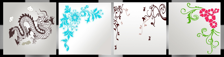 Wall Stickers 3D Models
