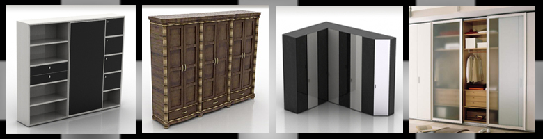 Wardrobes 3D Models
