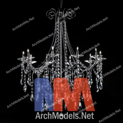 Chandelier 3d model 00007 archmodels aloadofball Choice Image