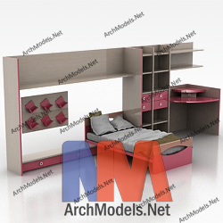 children-bed_00006-3d-max-model