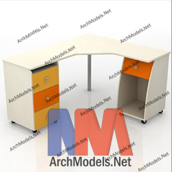 children-desk_00004-3d-max-model