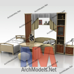 children-room-set_00001-3d-max-model
