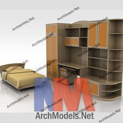 children-room-set_00002-3d-max-model