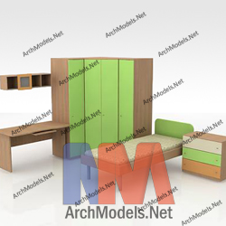 children-room-set_00003-3d-max-model