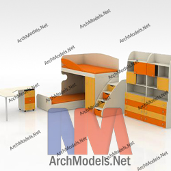 children-room-set_00004-3d-max-model