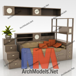 children-room-set_00008-3d-max-model