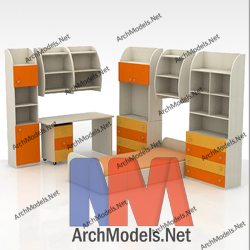 children-room-set_00009-3d-max-model
