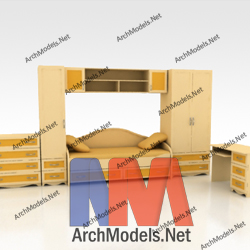 children-room-set_00012-3d-max-model