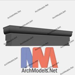 cornice_00003-3d-max-model
