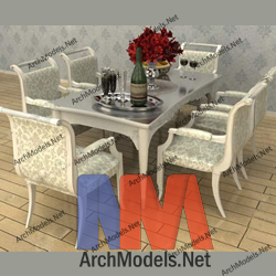 dining-room-set_00002-3d-max-model