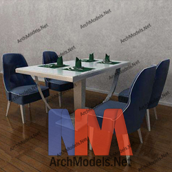 dining-room-set_00005-3d-max-model