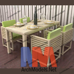 dining-room-set_00006-3d-max-model