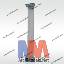 gypsum-column_00001-3d-max-model
