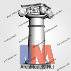 gypsum-column_00010-3d-max-model