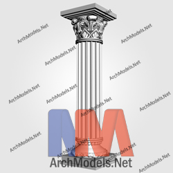 gypsum-column_00011-3d-max-model