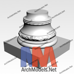 gypsum-column_00020-3d-max-model