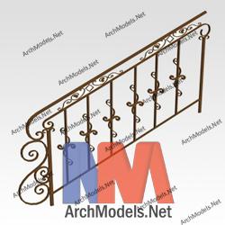 handrail_00001-3d-max-model