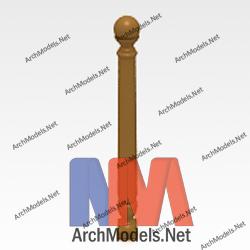handrail_00002-3d-max-model