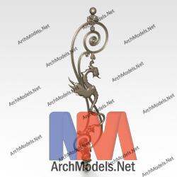 handrail_00003-3d-max-model
