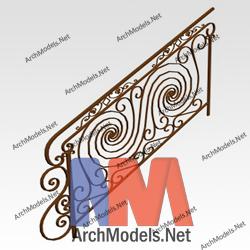 handrail_00006-3d-max-model