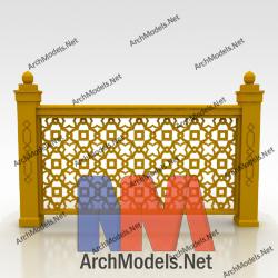 handrail_00009-3d-max-model